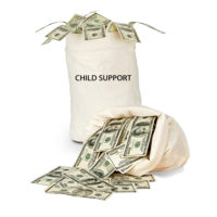 sack-of-child-support-money