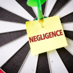 bulls eye that reads negligenence