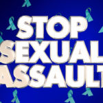 Stop sexual assault sign